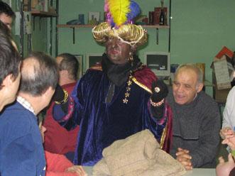El patge del rei negre visita el CO