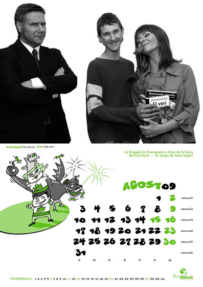 Calendari de Mas Albornà 2009