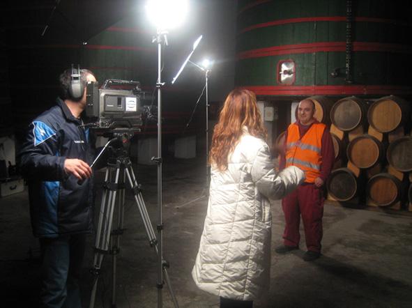Visita de Canal Terrassa TV