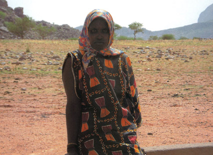 Dona amb malaltia mental de Mali