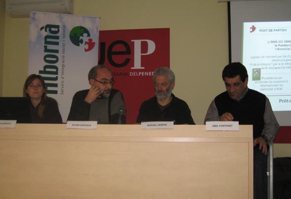"""Presentació de """"Prêt-à-intégrer"""" a Vilafranca"""