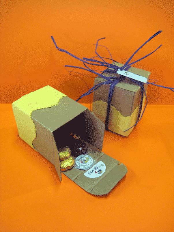 Les capsetes de paper reciclat de l'ocupacional
