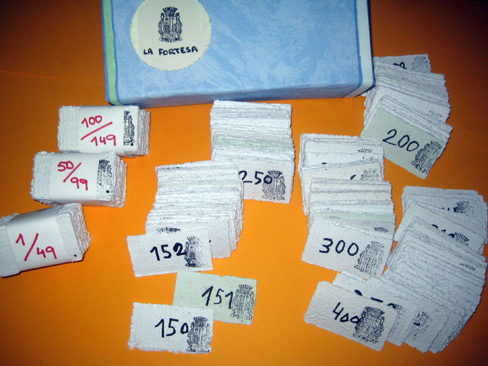 Números de loteria de La Fortesa