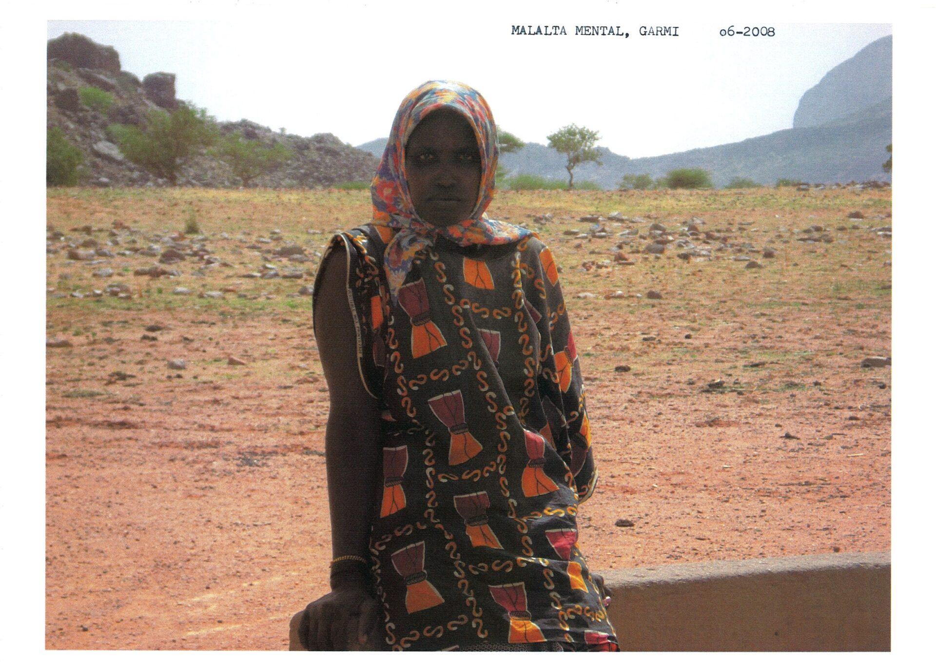 Dona amb malaltia mental a Mali