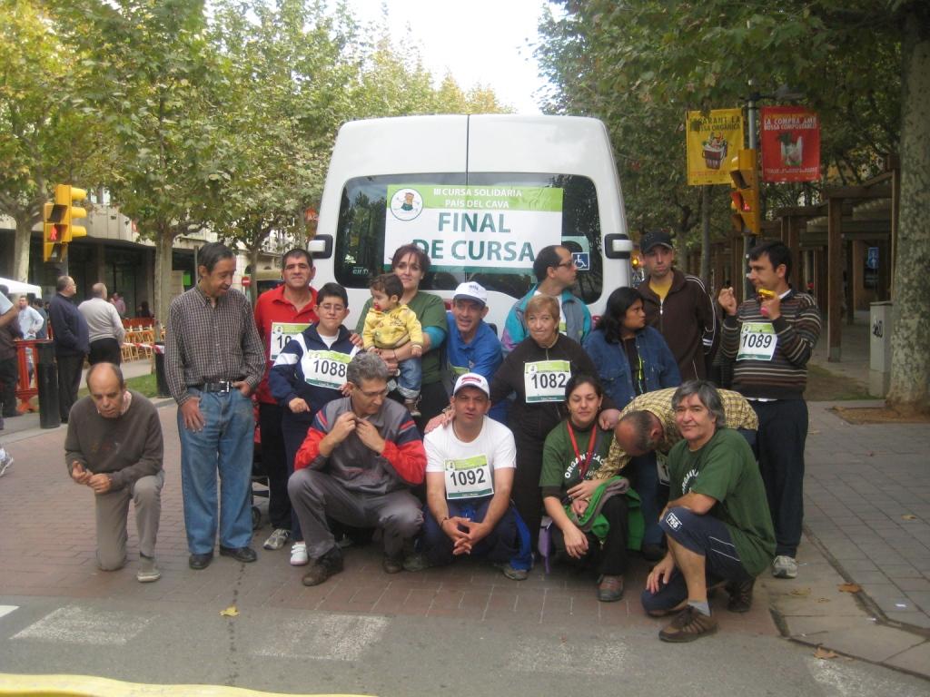 Participació a la cursa solidària País del cava
