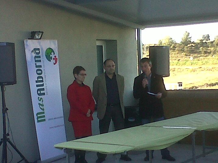 Inauguració de la primera deixalleria de Vilobí