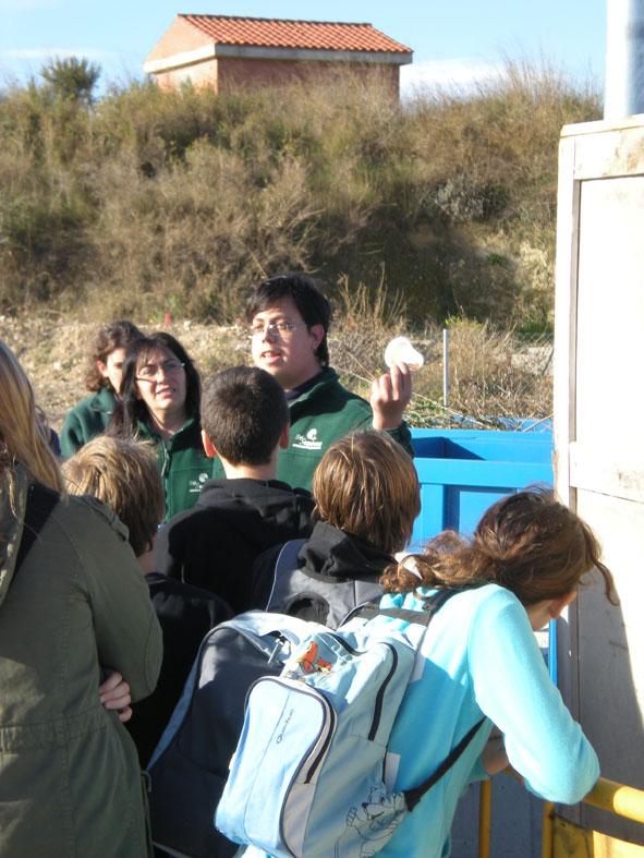 Visita a la deixalleria de St Llorenç d'Hortons
