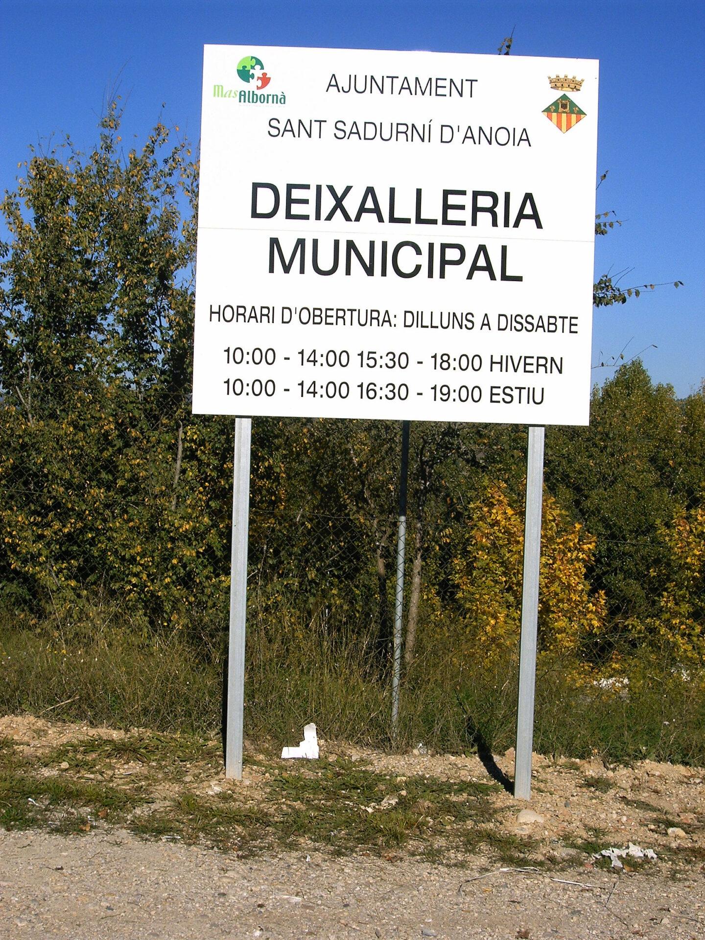 Mas Albornà col·labora amb la campanya ambiental de Sant Sadurní