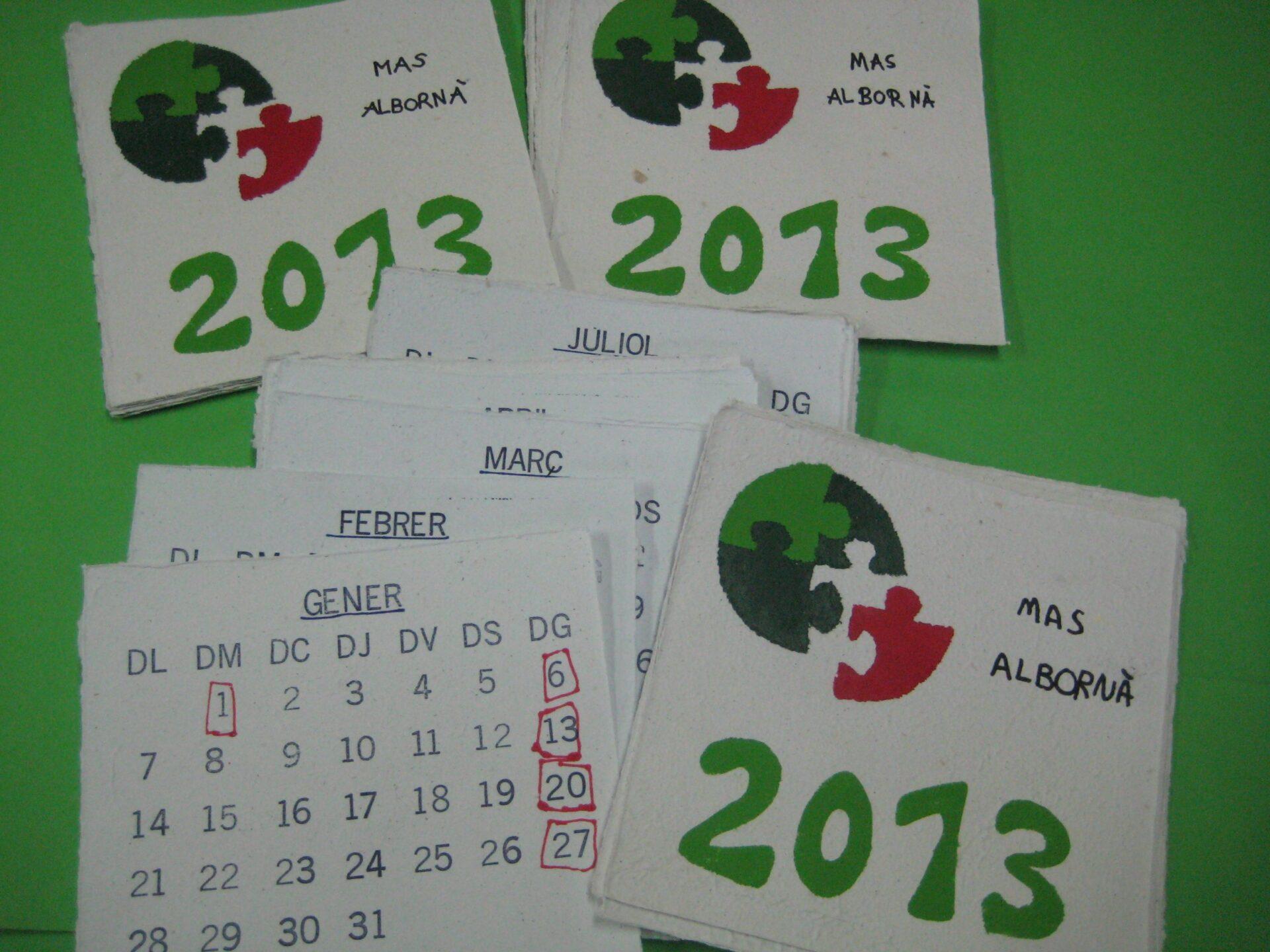 El nou calendari del CO 2013