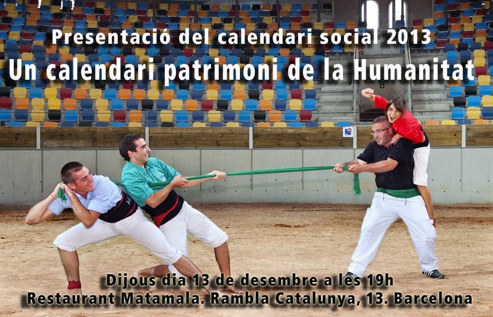 Presentació calendari