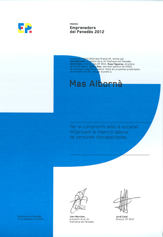 Premi JCI Vilafranca