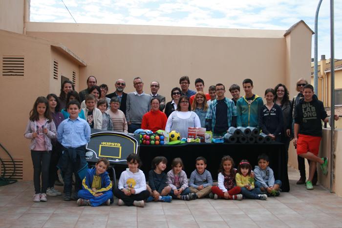 Visita de l'escola Montagut