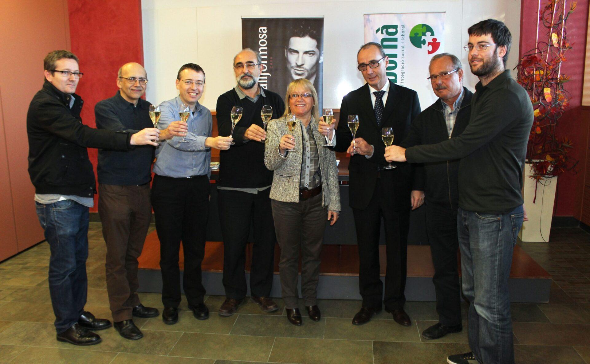 Acord amb Vallformosa per prestar serveis de suport a la producció