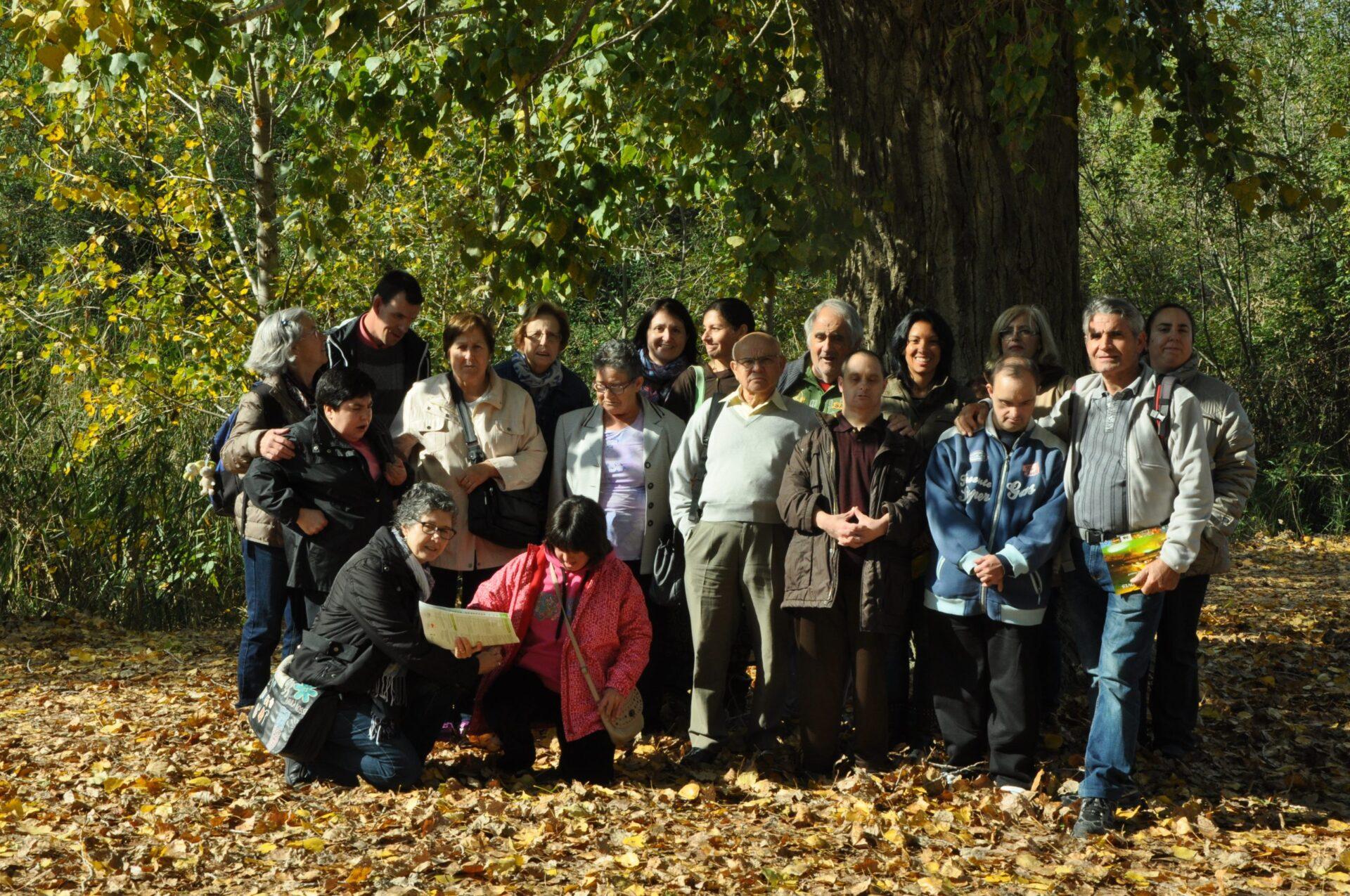 Les famílies del Centre Ocupacional van a l'Espluga de Francolí