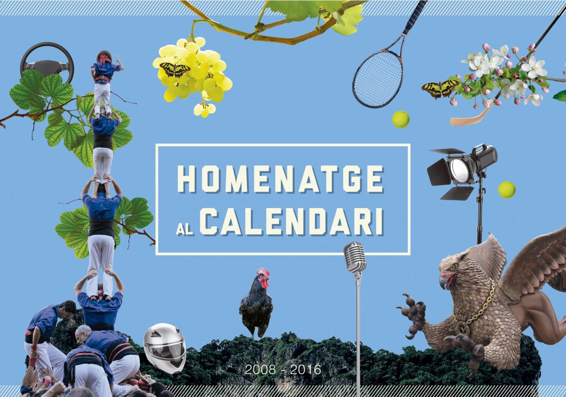 Un homenatge al calendari