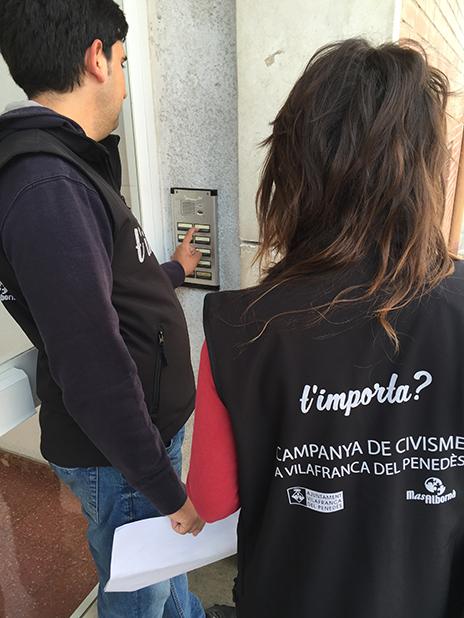 Campanya de Civisme a Vilafranca del Penedès