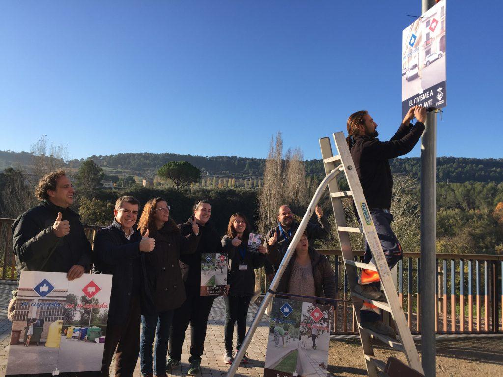 Penjada cartells campanya Torrelavit