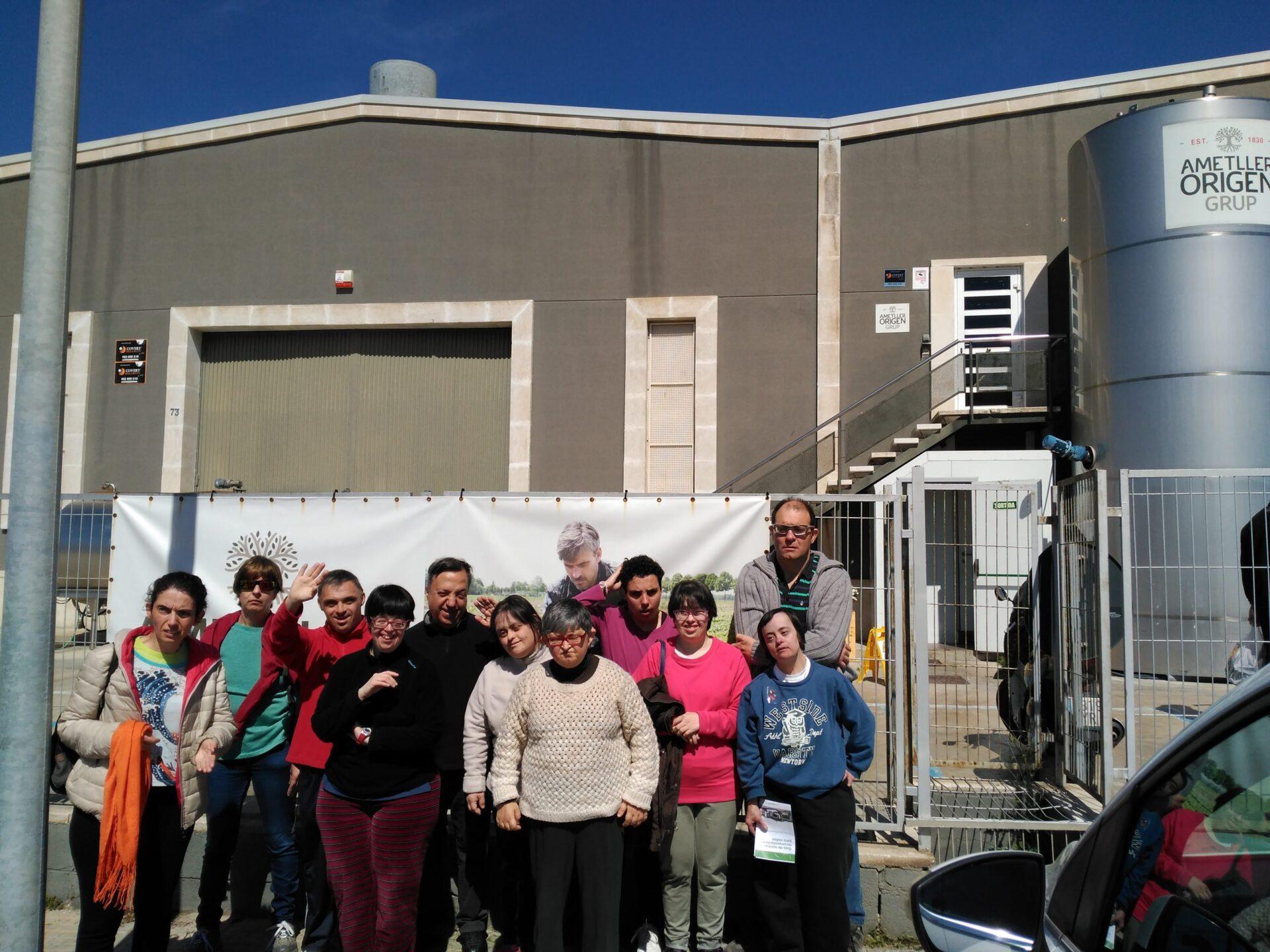 El centre ocupacional visita Casa Ametller