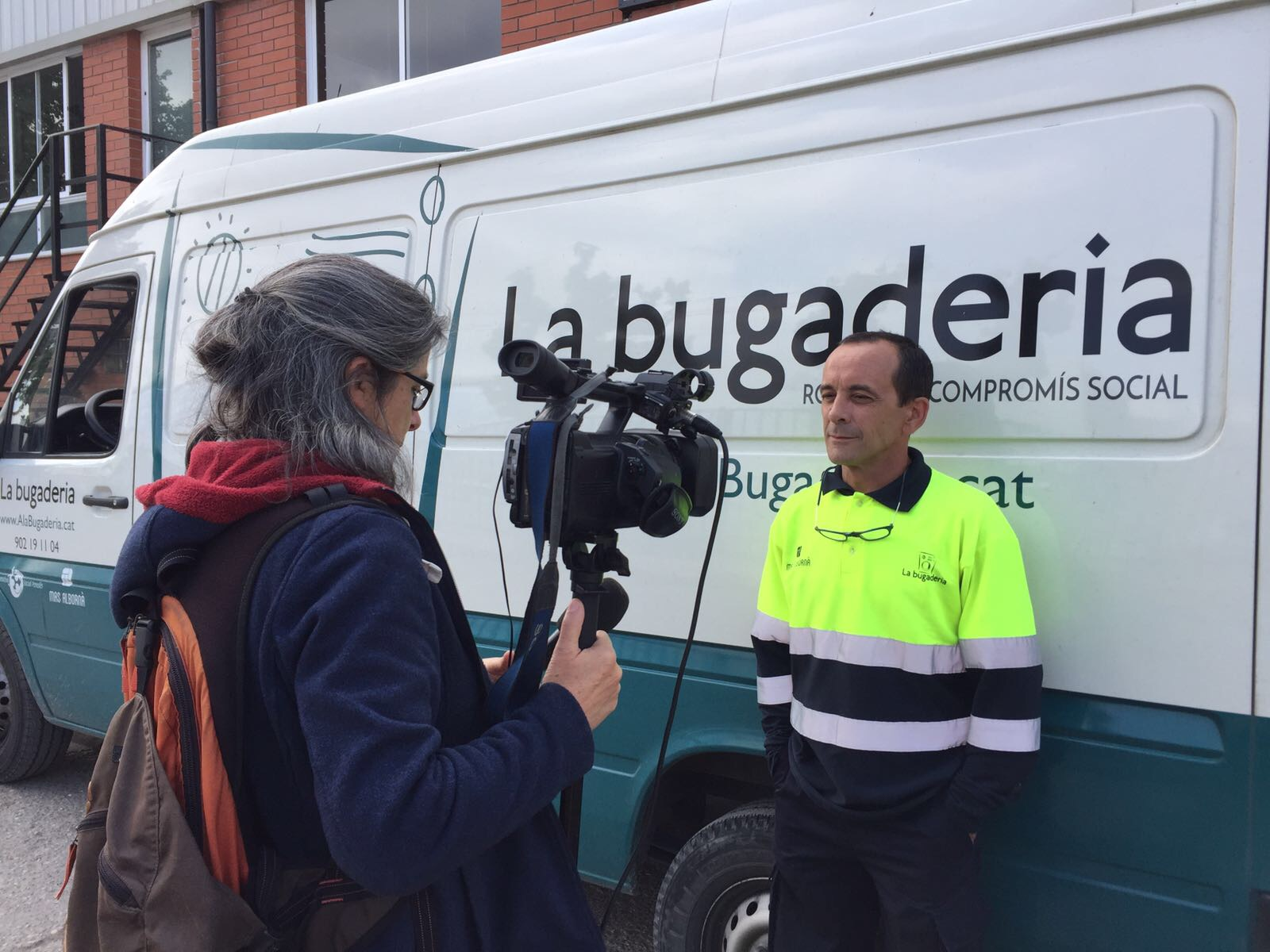La Bugaderia a la televisió local