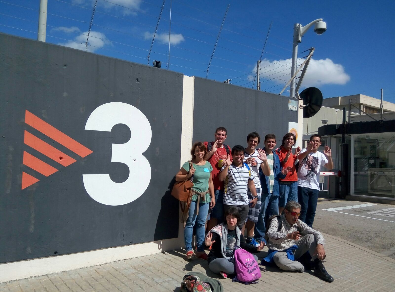 L'ocupacional visita TV3