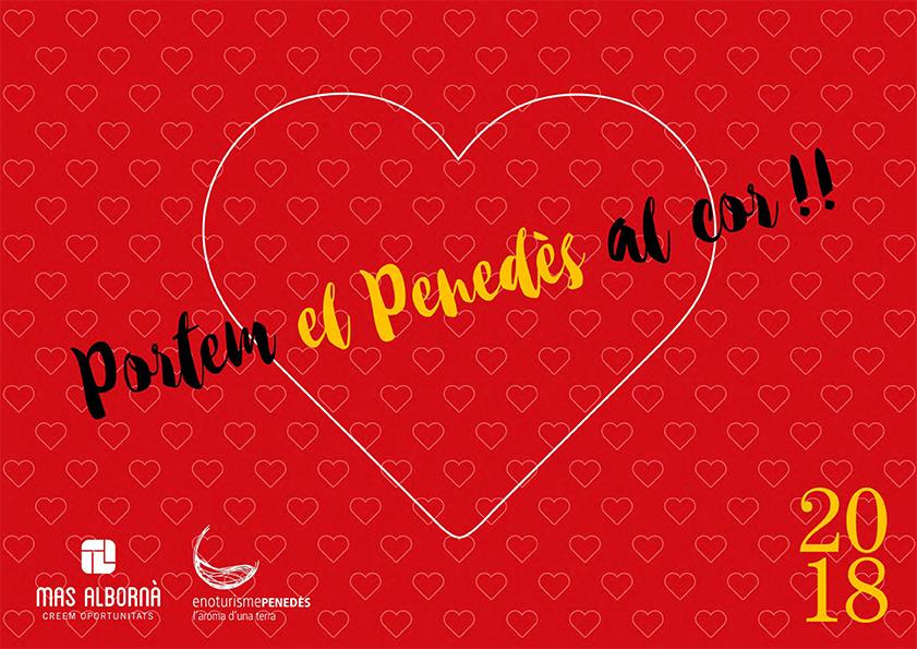 Un calendari amb el cor del Penedès
