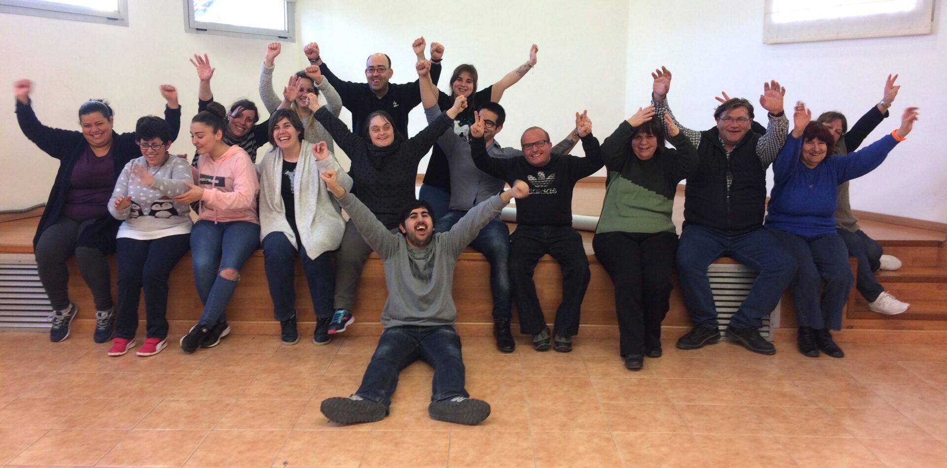 El Voluntariat de teatre, un treball en equip