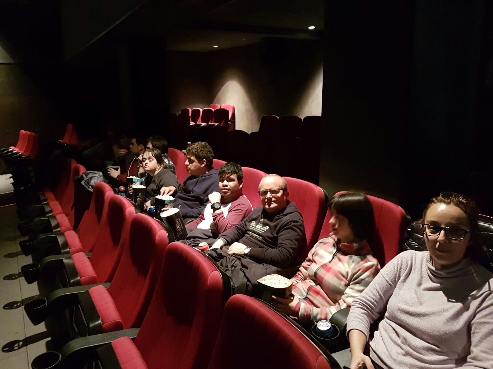 Al mal temps, cinema