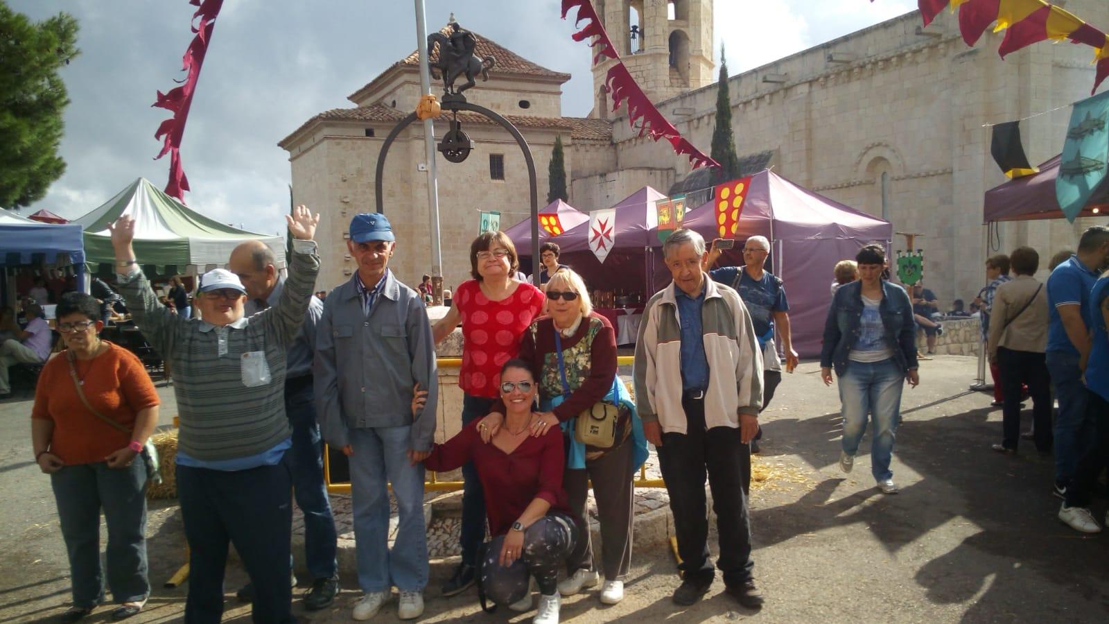La llar visita la Fira Medieval de Sant Martí Sarroca