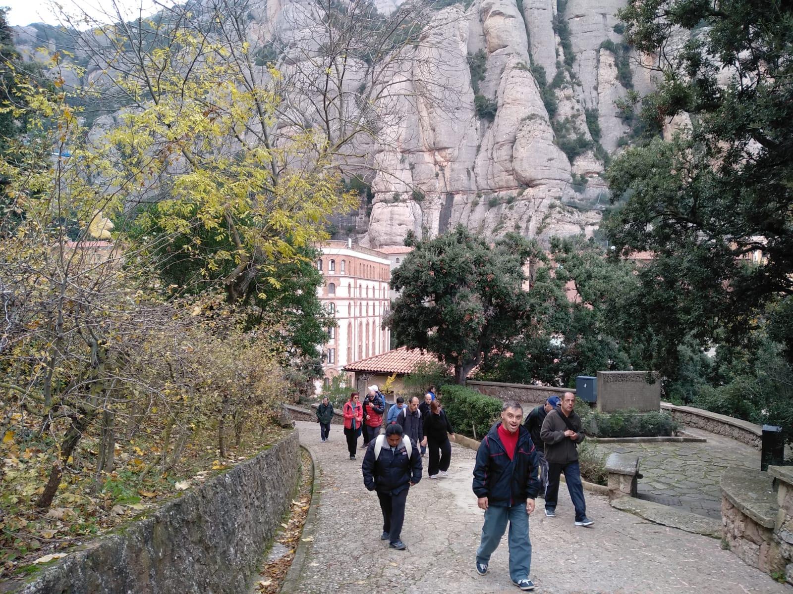 D'excursió a Montserrat
