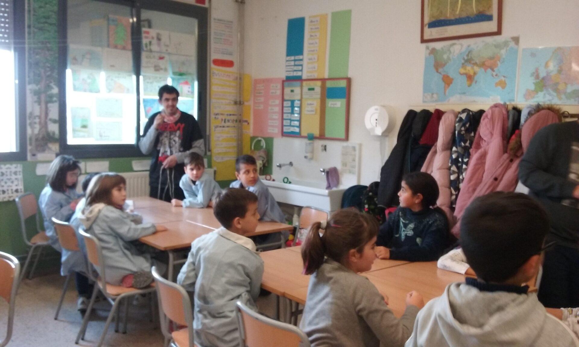 Un nou taller a l'escola