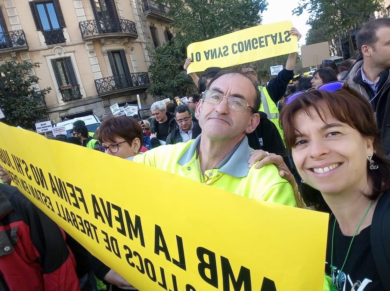 Convocada una nova acció de protesta a Barcelona