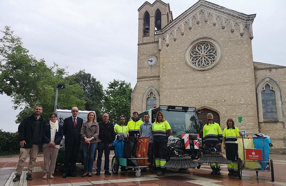 Renovem el Servei de Neteja Viària a Santa Margarida i els Monjos