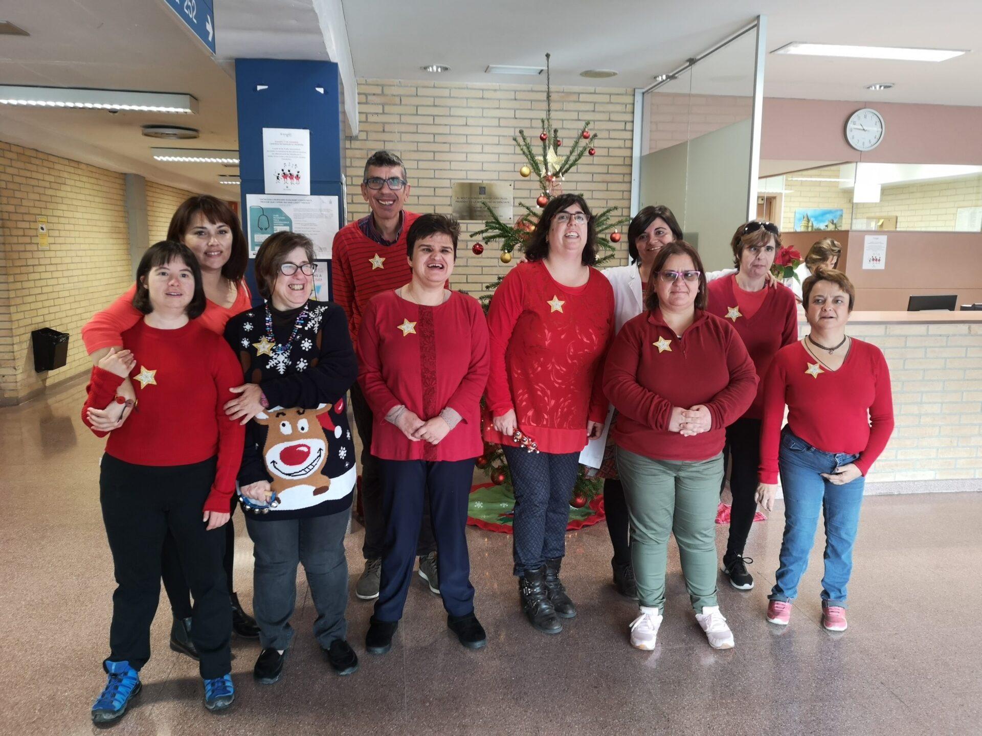 Esperit de Nadal a l'hospital