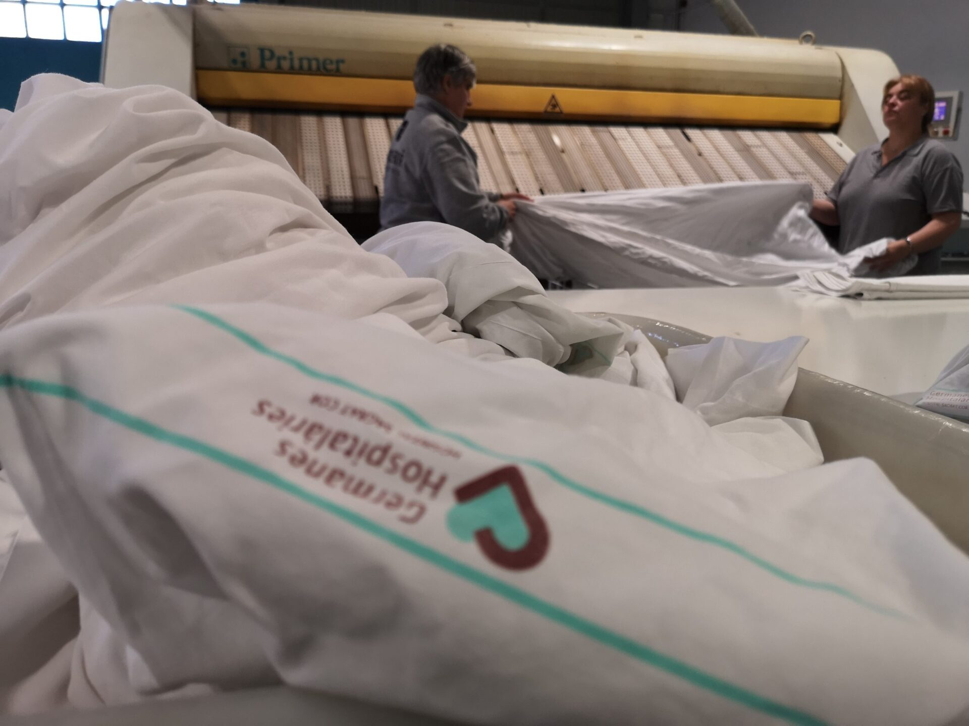 La bugaderia amplia serveis per fer front al Coronavirus