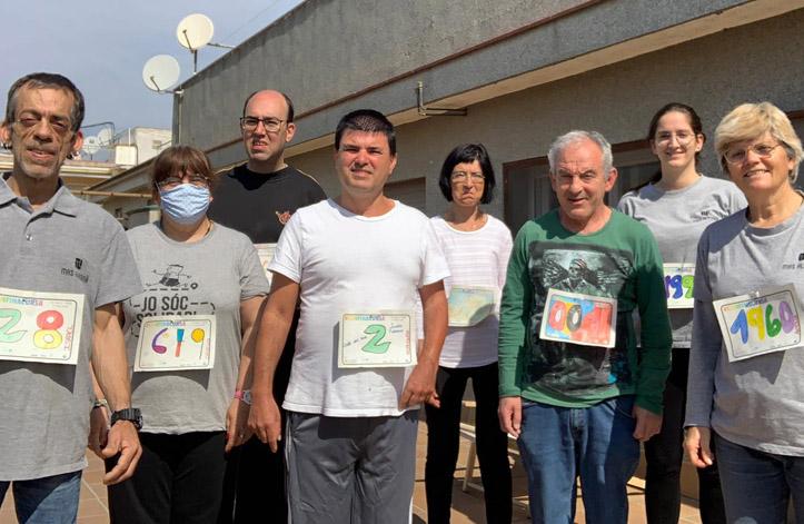 La llar participa a la Confinacursa solidària