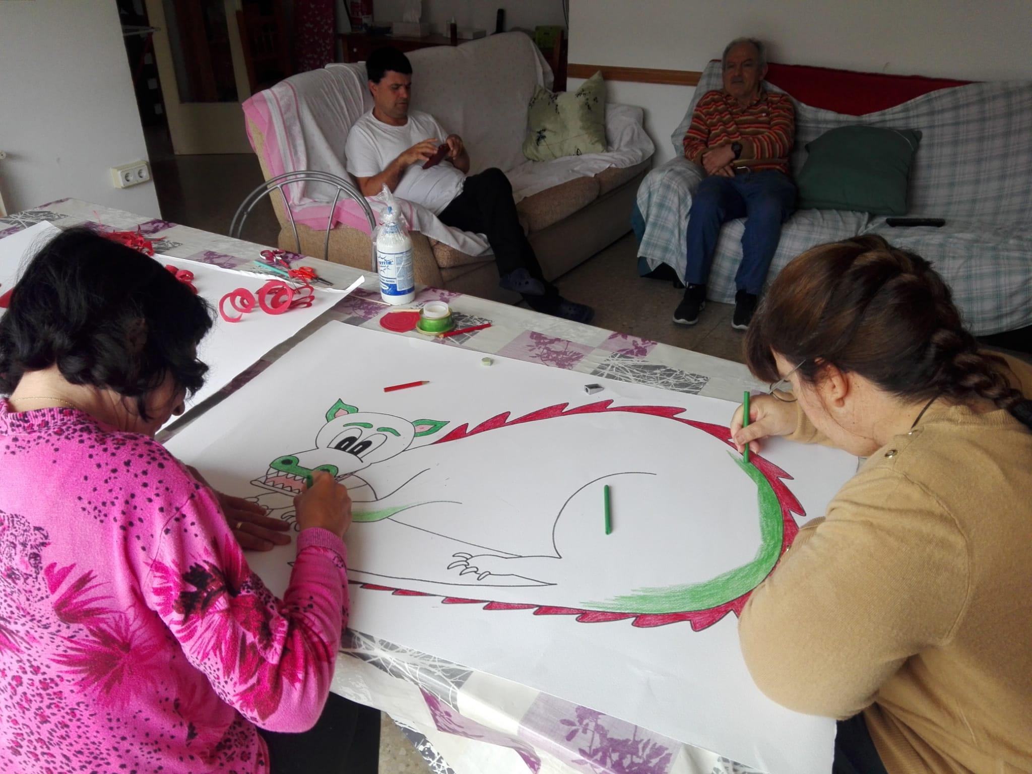 La llar es prepara per un Sant Jordi… diferent
