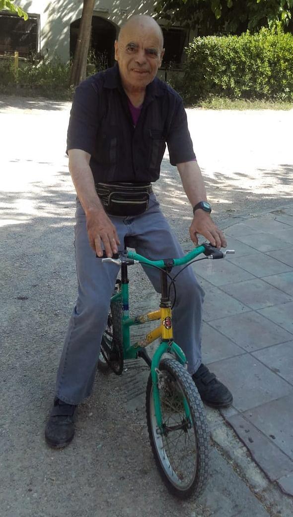 El Salvador i la seva bicicleta
