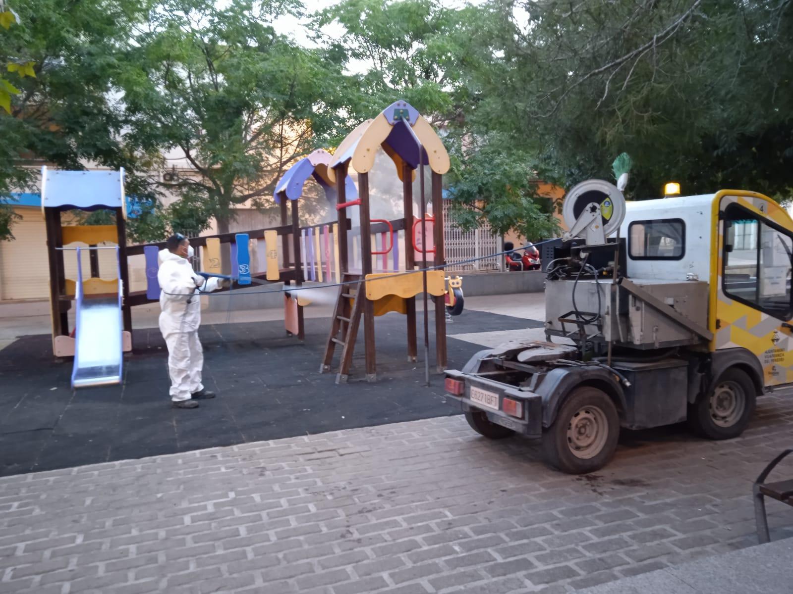 Netegem a fons els parcs infantils de Vilafranca