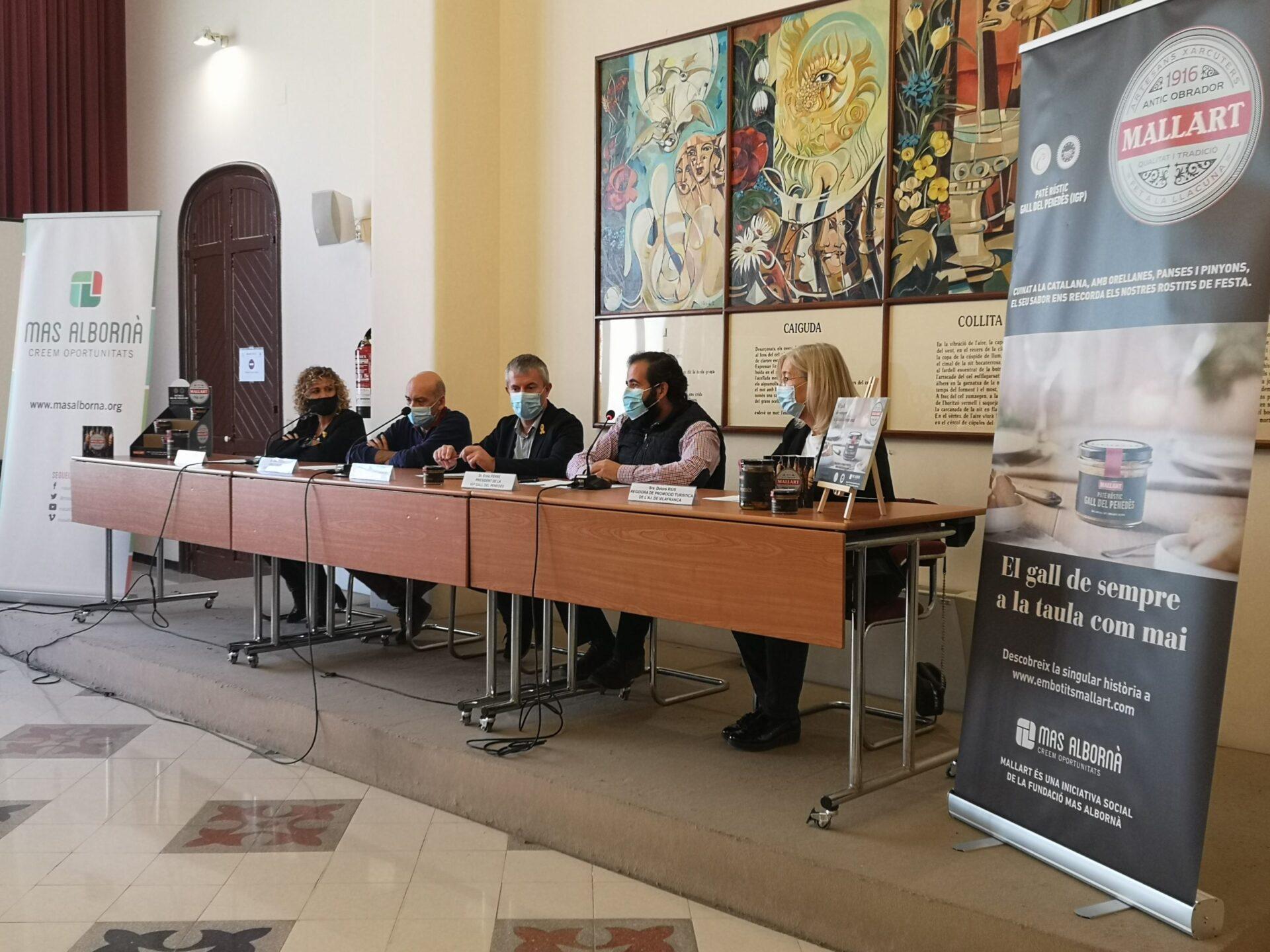 Presentació institucional del Paté rústic de Gall del Penedès IGP