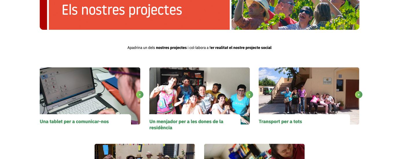 Apadrina una iniciativa i participa del nostre projecte social