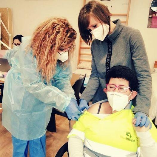 Vacunem al centre ocupacional contra la COVID-19