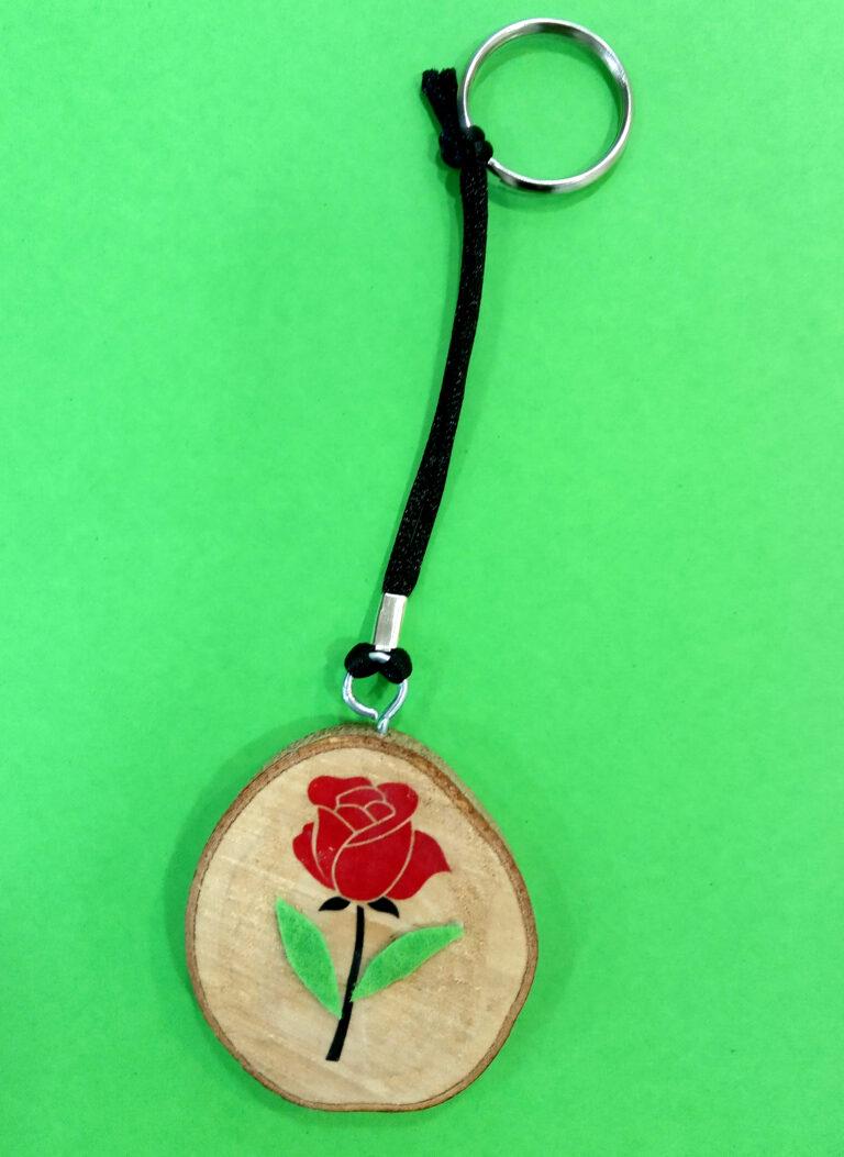 No saps on penjar les claus de casa? Un clauer molt original amb una gran dosi de creativitat i amor.