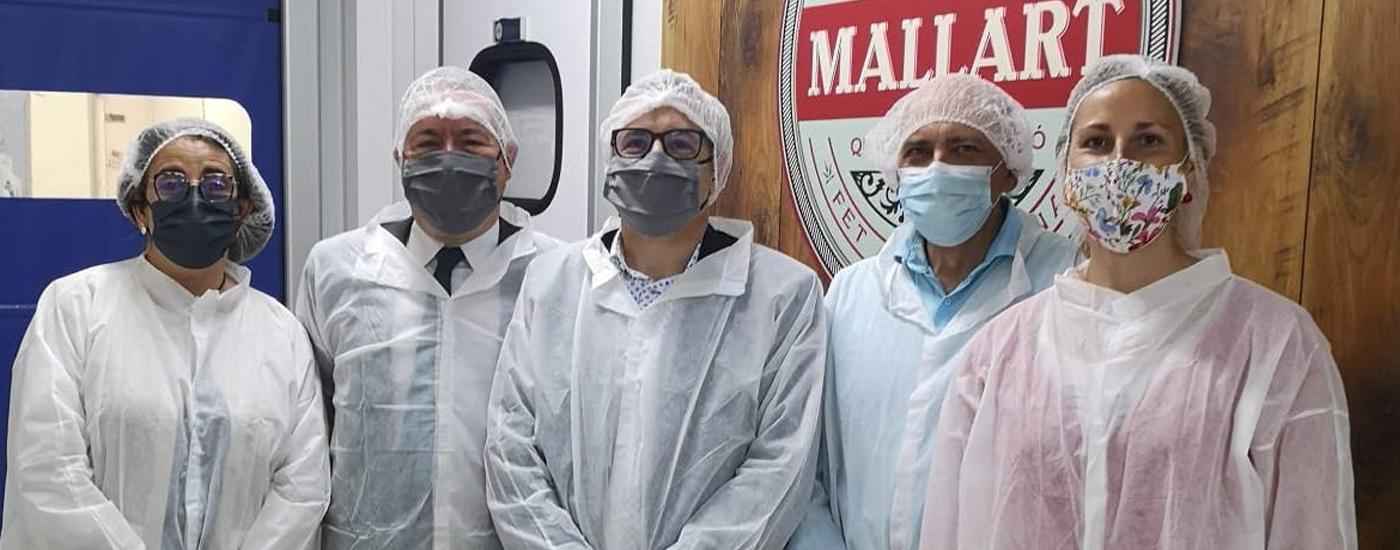 Banc Sabadell visita l'obrador de Mallart Artesans Xarcuters