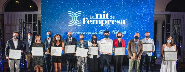 La Fundació Mas Albornà guanya el premi de la Federació Empresarial del Gran Penedès (FEGP) en la categoria de la...