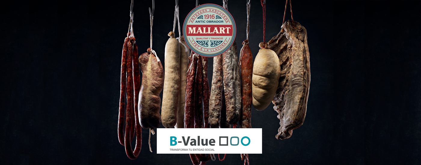 Mallart Artesans Xarcuters finalista en la 5a edició del programa d'acceleració de projectes socials BValue