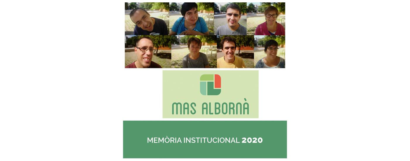 Accediu a la memòria institucional 2020