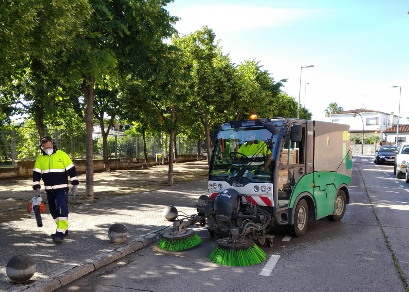 La neteja viària s'estrena a Vilobí del Penedès i Torrelles de Foix