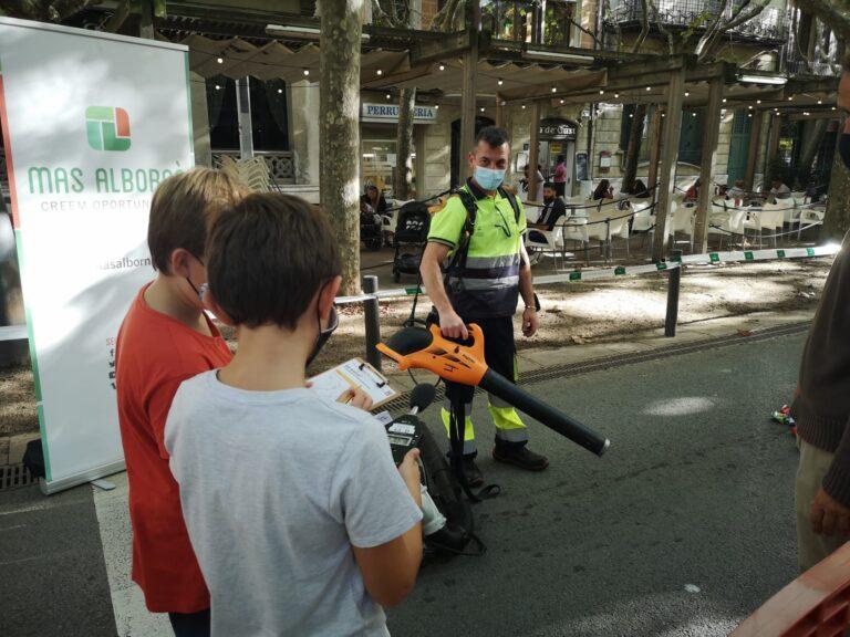 En el marc de la setmana de la mobilitat i des de Mas Albornà hem participat en els actes d'aquesta...