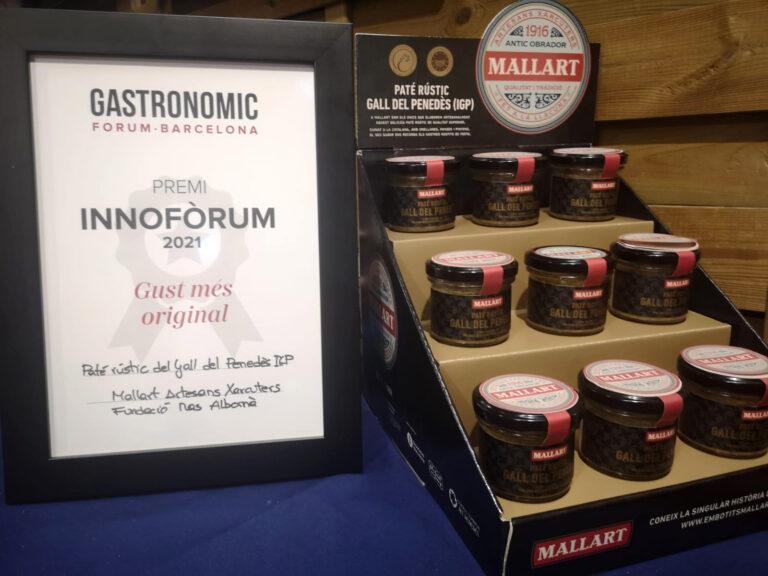 Mallart Artesanns Xarcuters, la marca d'embotits de Mas Albornà ha estat present al Gastronòmic Fòrum de Barcelona 2021.